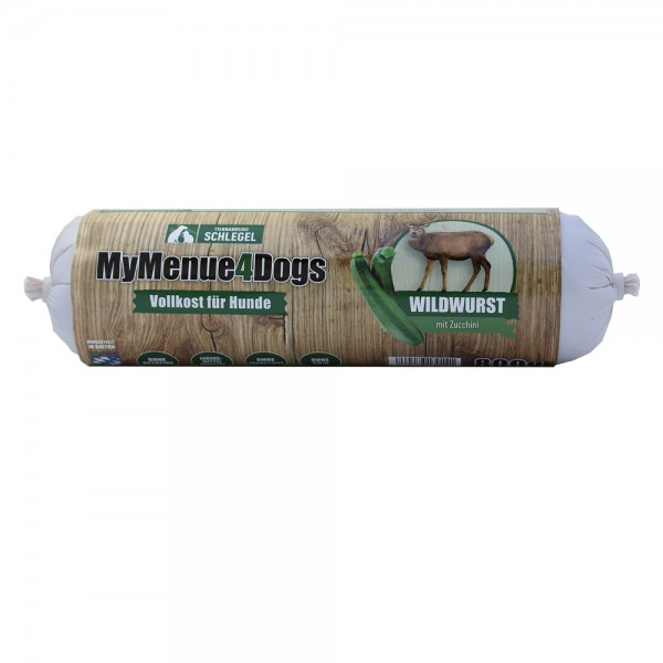 MyMenue4Dogs Wildwurst