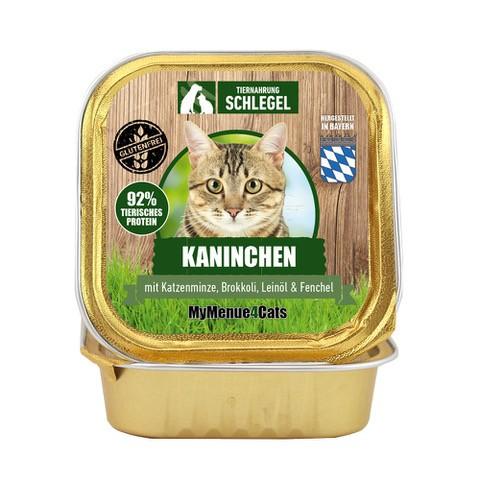 Kaninchen mit Katzenminze, Brokkoli, Leinöl & Fenchel 100g Schale