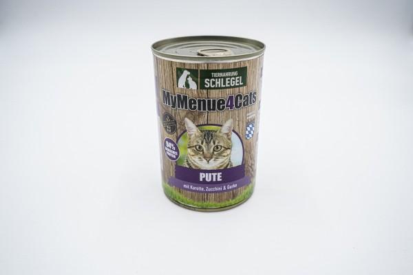 Pute mit Karotte, Zucchini & Gurke 410g Dose