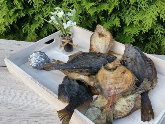 """Trocken-Fisch """"Flunder"""""""